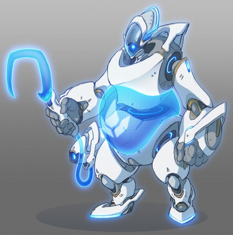 Если бы для ульты Эхо использовались робо-детали