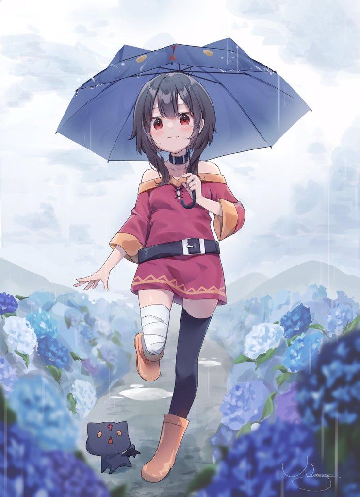 Гуляем под дождиком
