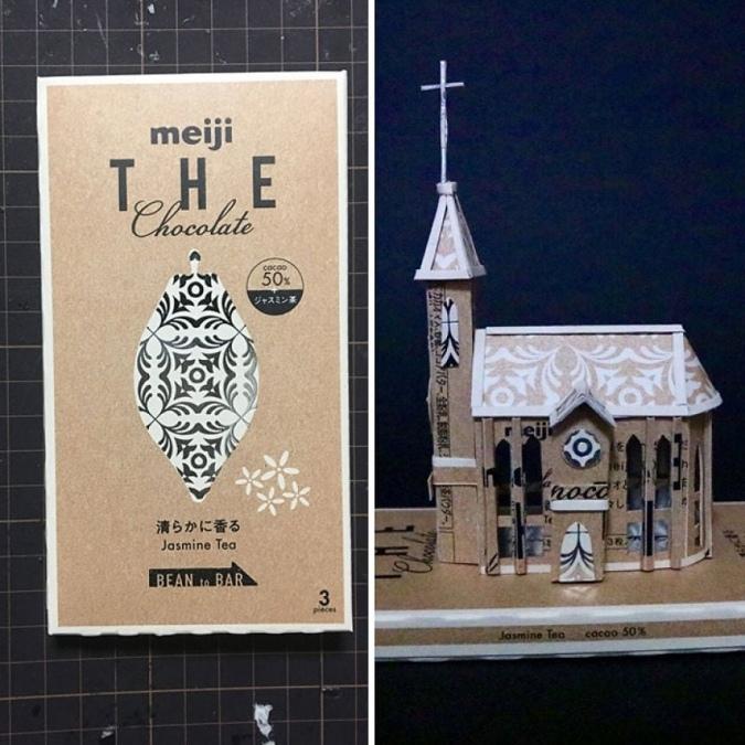 Дизайнер из Японии по имени Харуки, дарит вторую жизнь упаковкам от продуктов