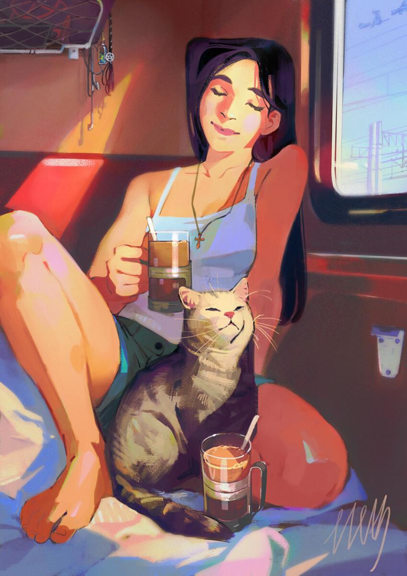 Ведьмы в поезде