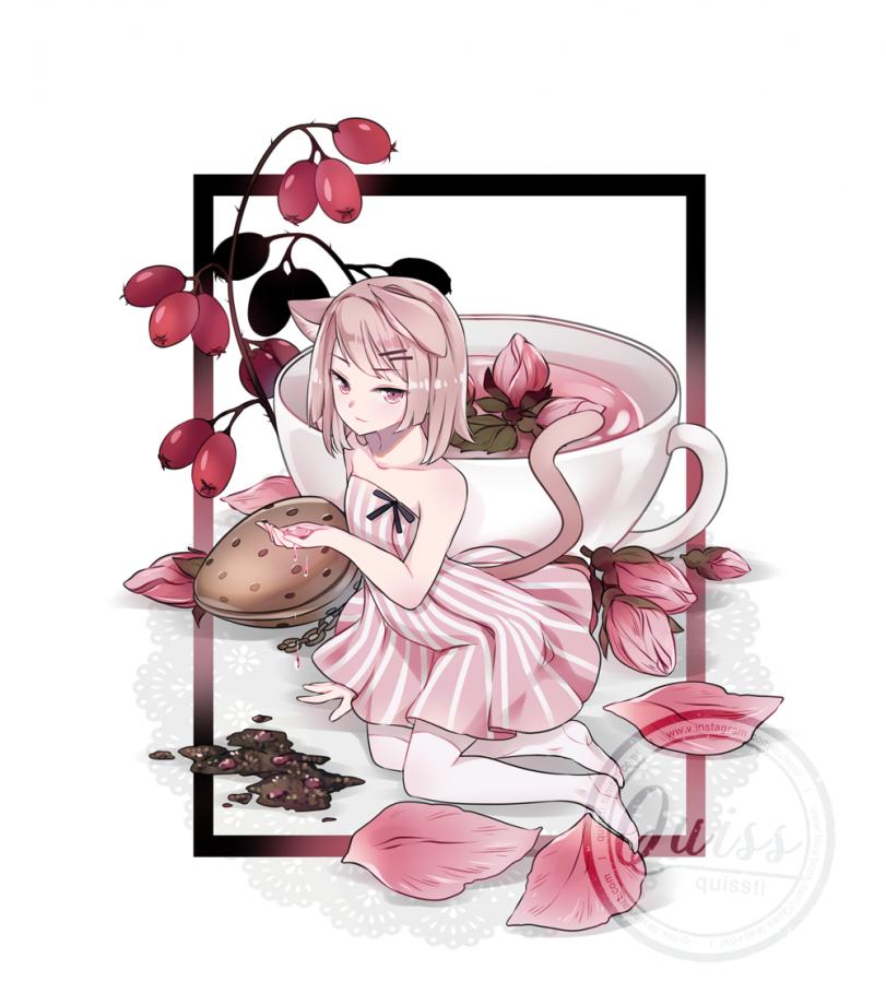 Cat&Mouse Rose Tea