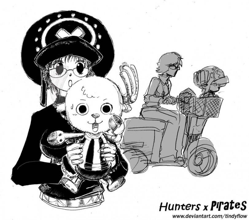 Чернильный кроссовер охотников с пиратами