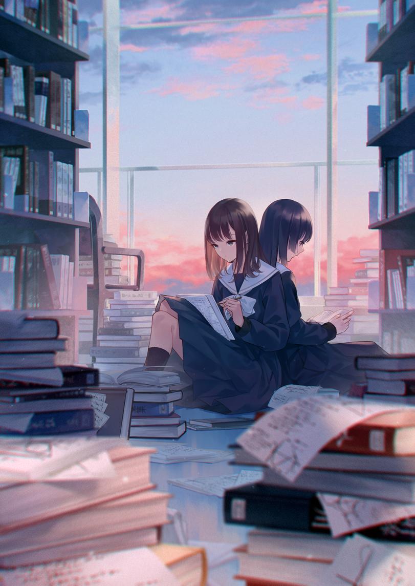 Книги и математика