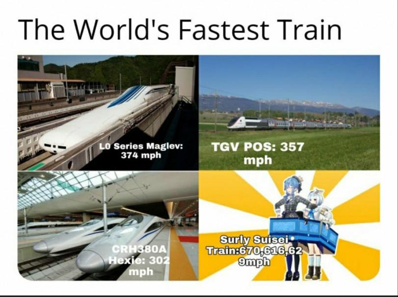 Suisei train