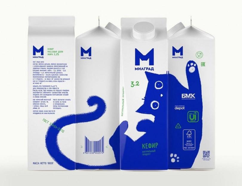 Молочная продукция от котиков