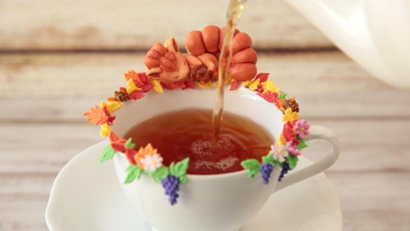 Сахарные Вульпиксы. Приятного чаепития!
