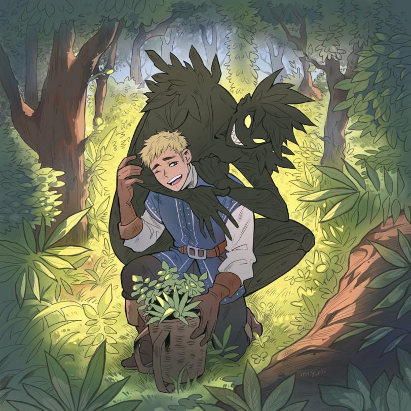 Травник и его лесной друг