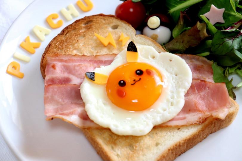 Завтрак тренера покемонов