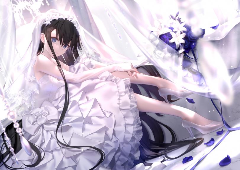 Арты с невестами от mashima saki