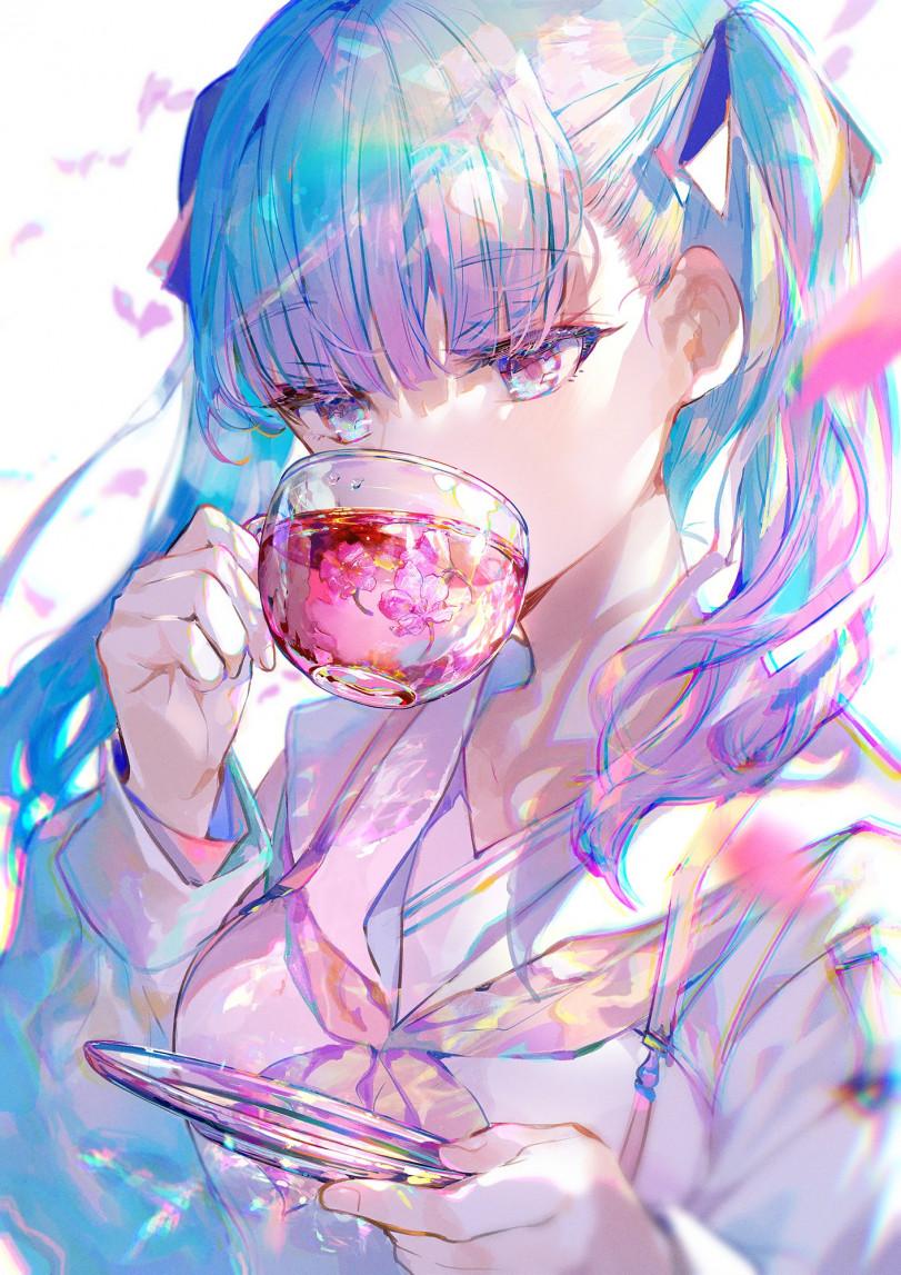 Чай с ароматом весны
