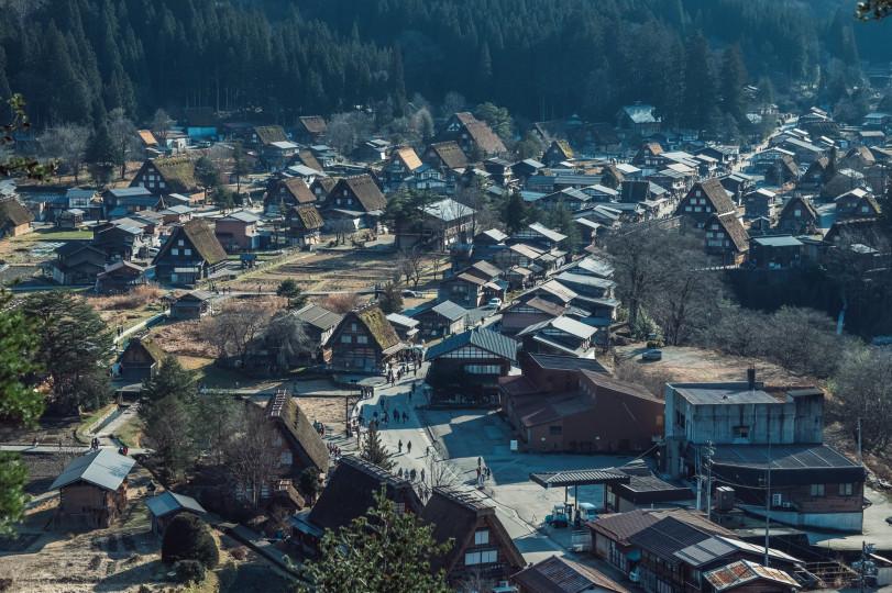 Сельская местность в Японии
