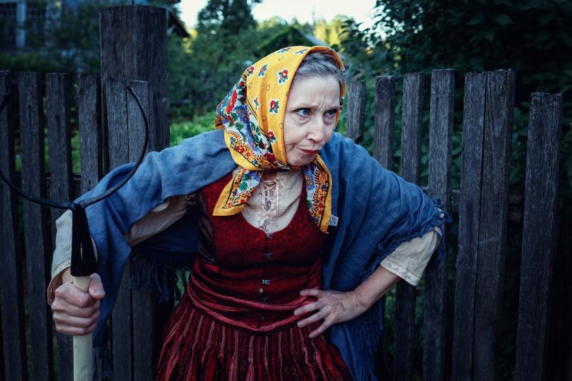 Косплеер Марина Бадьянова в свои 57
