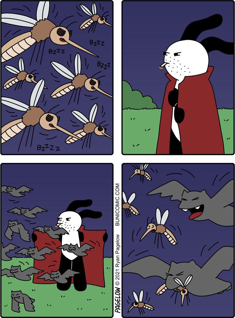 Ну всё комары, вы доигрались