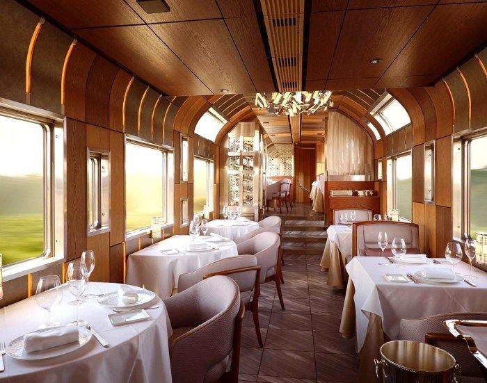 Вот как выглядит внутри самый дорогой поезд в мире из Японии