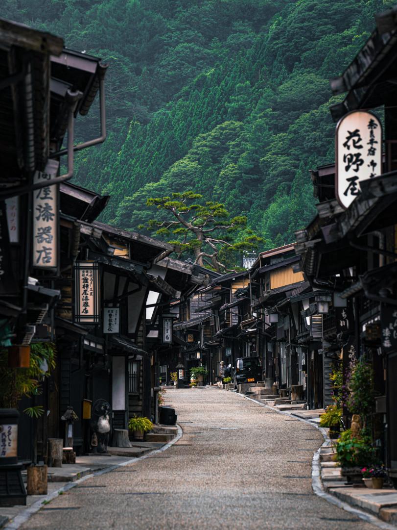 Почтовый город в префектуре Нагано