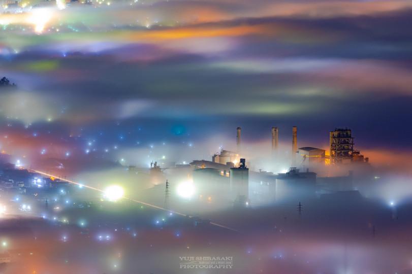 Туман в Чичибу