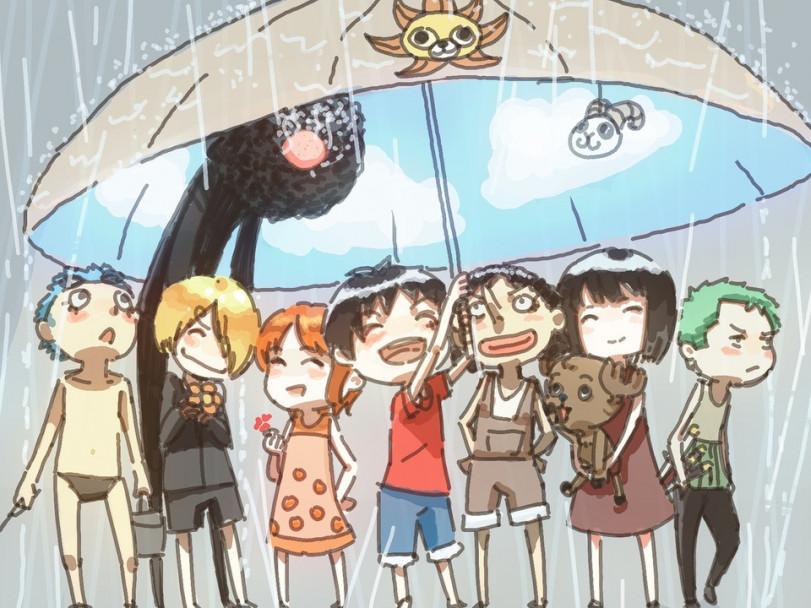 Малыши из One Piece