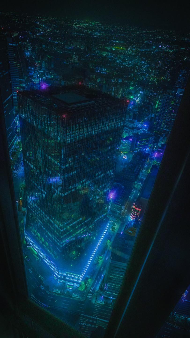Словно бэкграунд для аниме про будущее