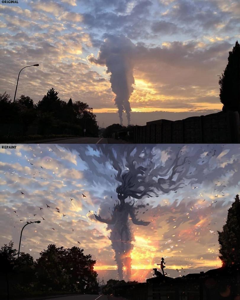 Что вы видите, смотря на небо?