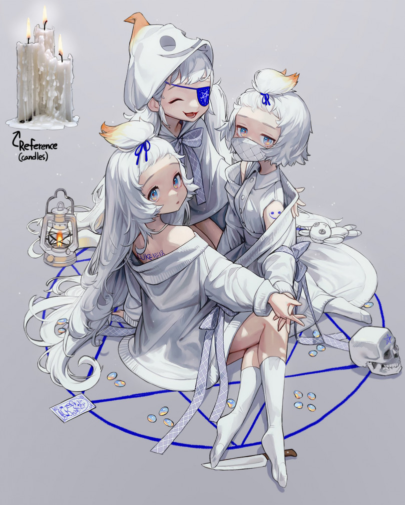 Свечки-тян