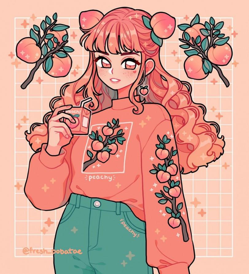 Полные цвета и ярких красок арты от Emily Kim
