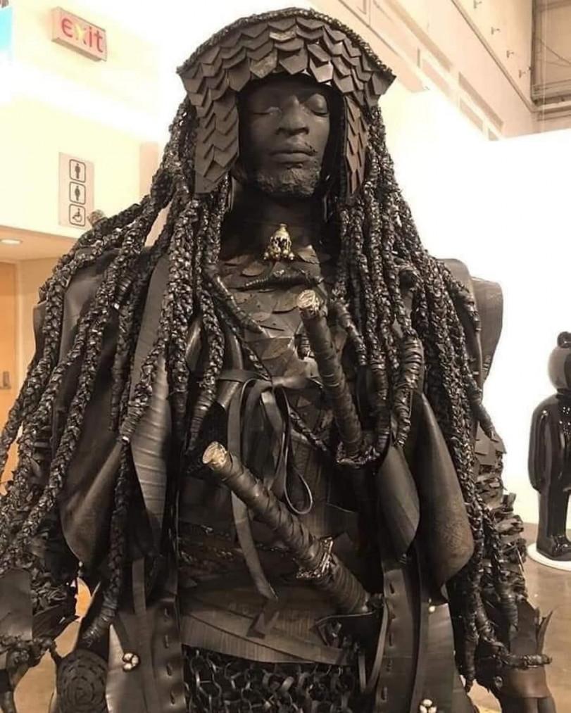Первый темнокожий самурай