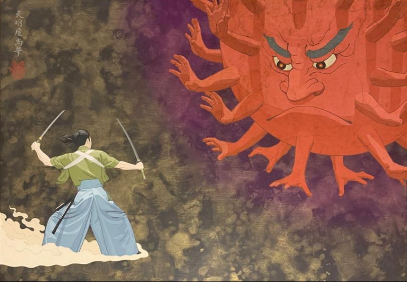 Самурай против коронавируса
