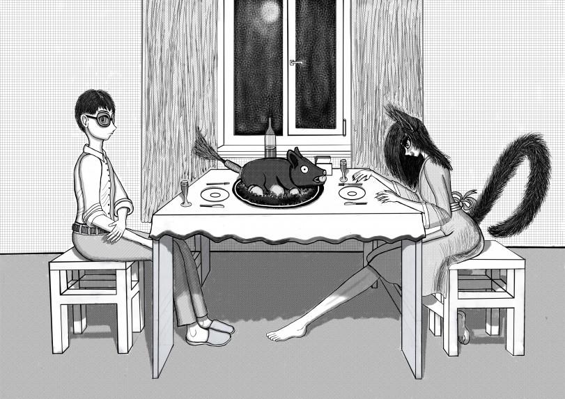 Кто девушку ужинает, тот её и...