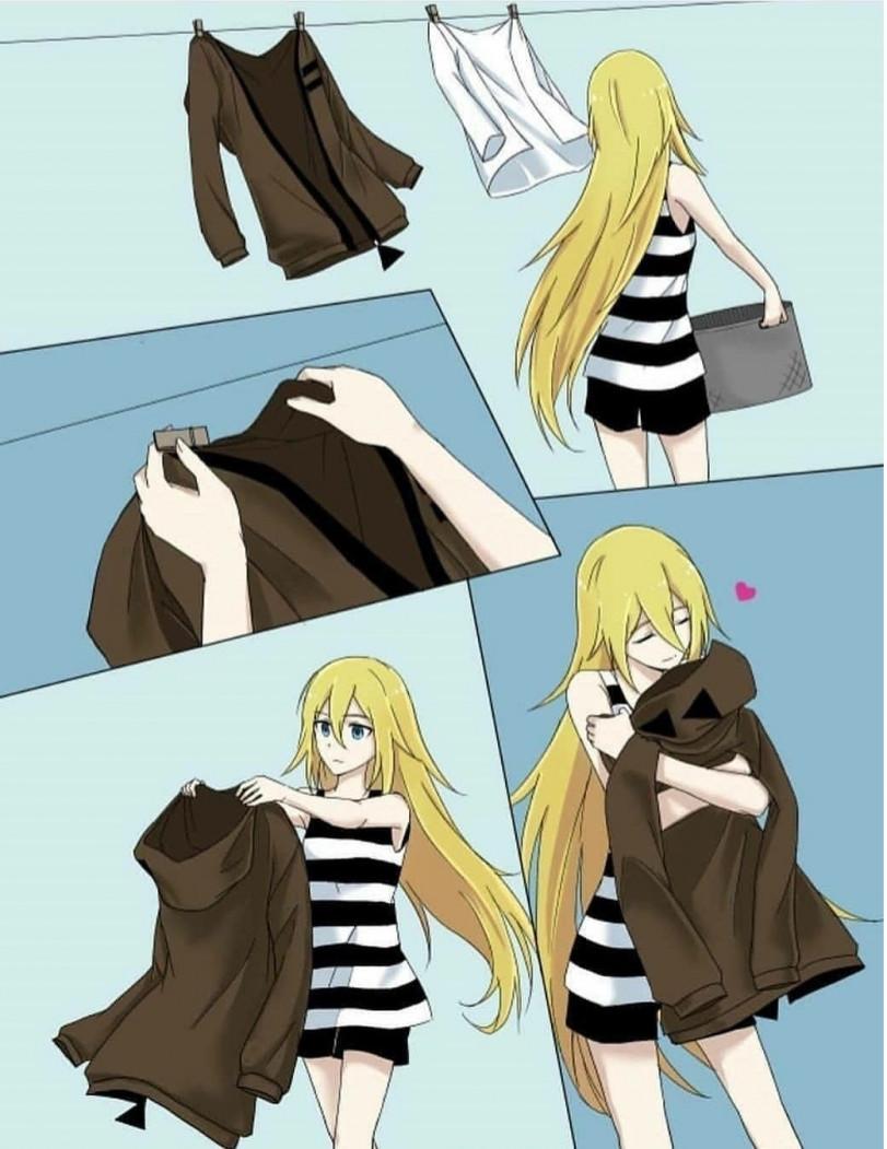 Когда хочется обнимашек