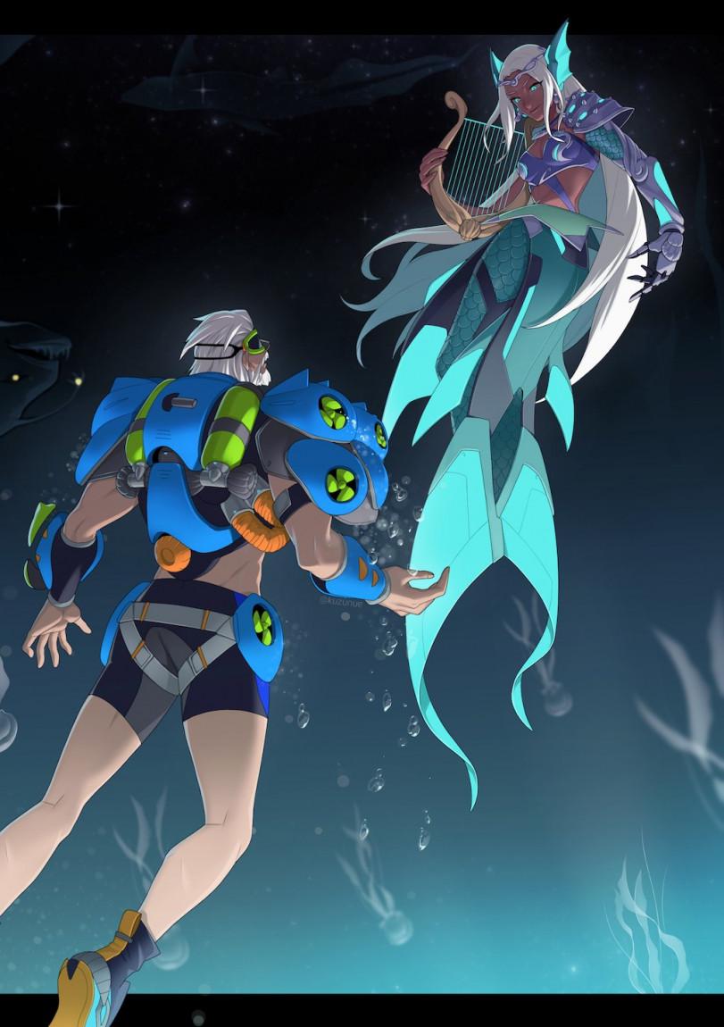 Я слышу мелодию морских глубин!