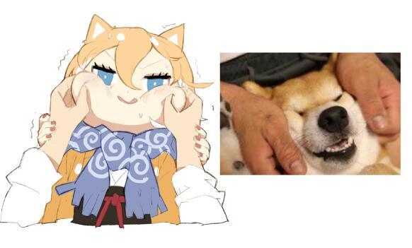 Девочка-собачка