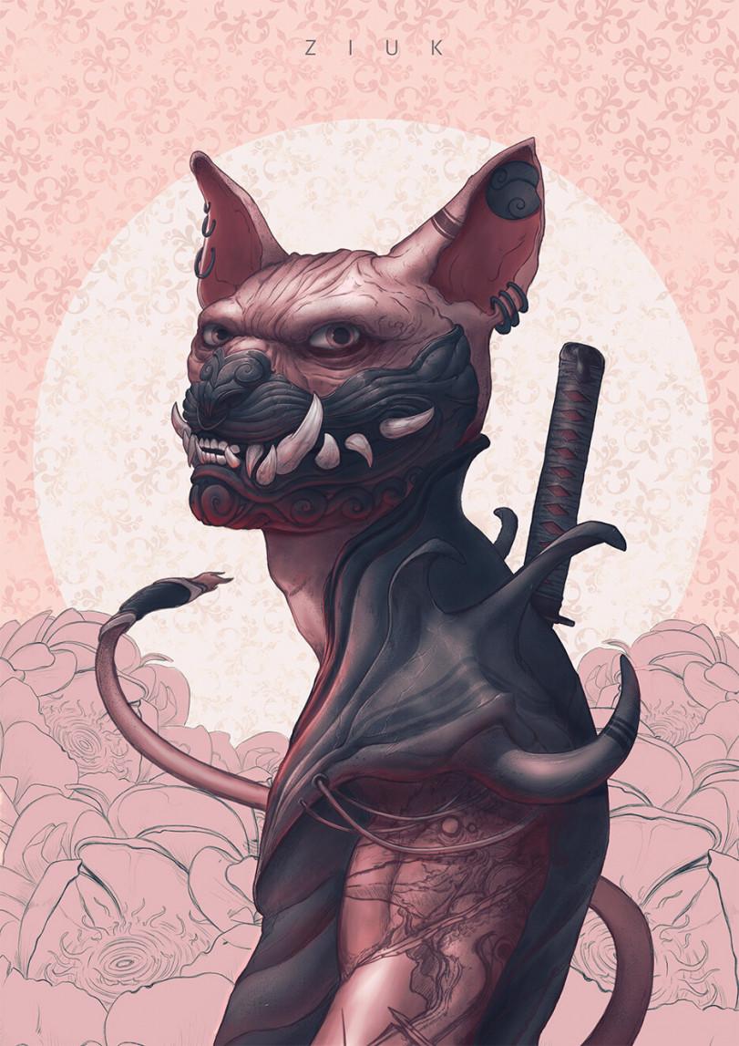 Демонические кошки