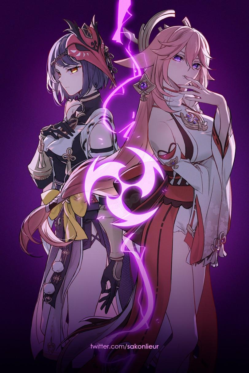Старшие сестрёнки стихии Электро