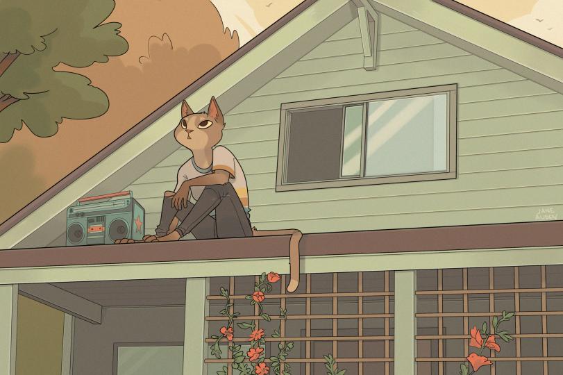 Отдых на крыше
