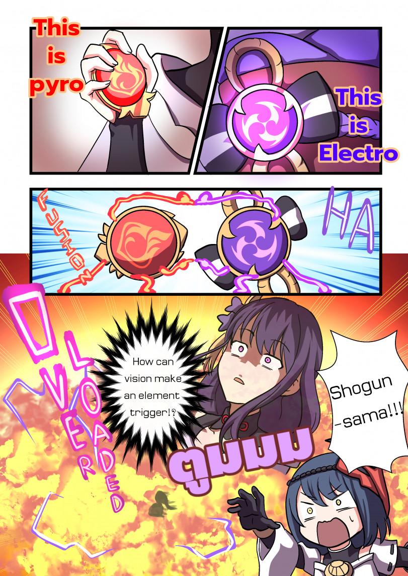 Взрывные приключения в Инадзума