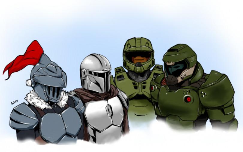 Встреча шлемоголовых