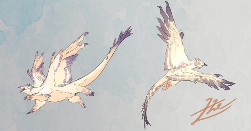 Необычные существа от gomalemo